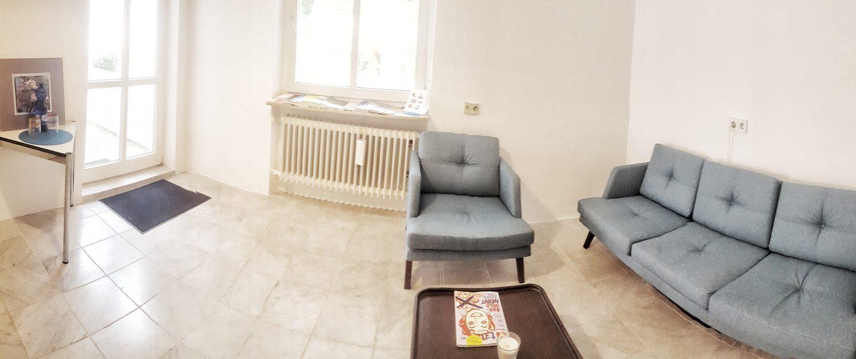 Bürogemeinschaft Heidelberg - Wartebereich